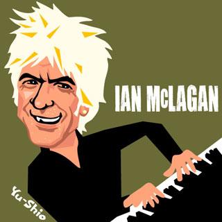 Ian Mac McLagan caricature