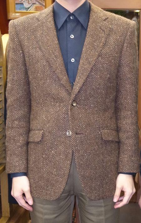 ドニゴールツイードのジャケットのオーダー
