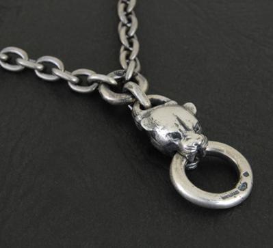 Quarter Panther & Quarter Chain Necklace[N-7]