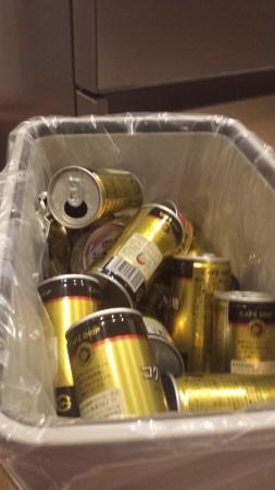 スチール缶が溢れて困っています。