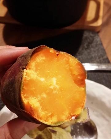 ガスコンロで簡単に焼き芋調理
