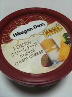 ハーゲンダッツ トロピカルクリームチーズ