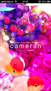 cameran 蜷川実花監修カメラアプリ