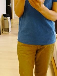 いまさら半袖Tシャツ買い足し