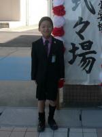 ゆうちん。、入学式
