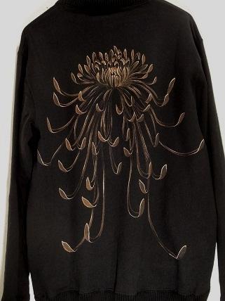 菊 ジップジャケット 20119122