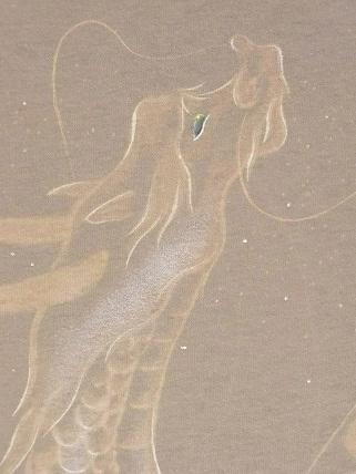 龍 手描きTシャツ 2012149