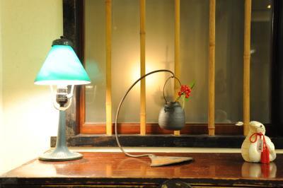 旅館内のミニ花瓶