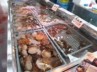 しべついちば③ホタテなど貝類