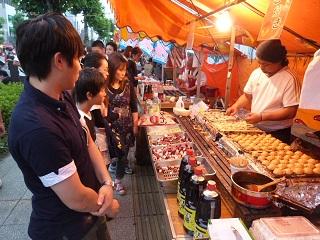 熊谷うちわ祭たこ焼き