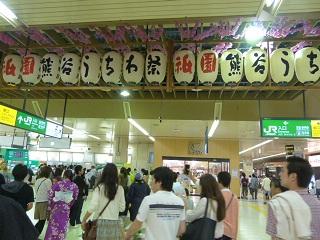 熊谷うちわ祭祇園祭①