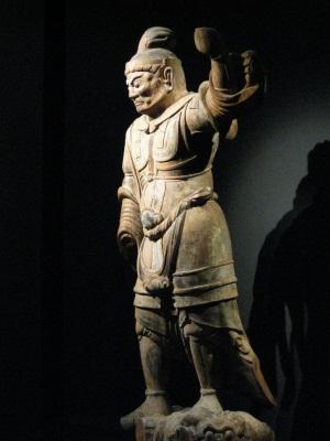 亀岡大宮神社伝来・天王立像
