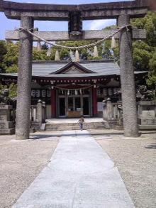 機物神社の鳥居