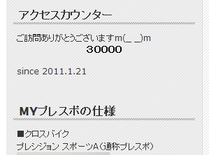 30000PV達成&残念な連休初日