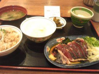 カツオのタタキ&タケノコご飯 ご近所探訪 その51