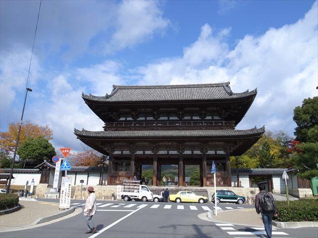 紅葉の仁和寺
