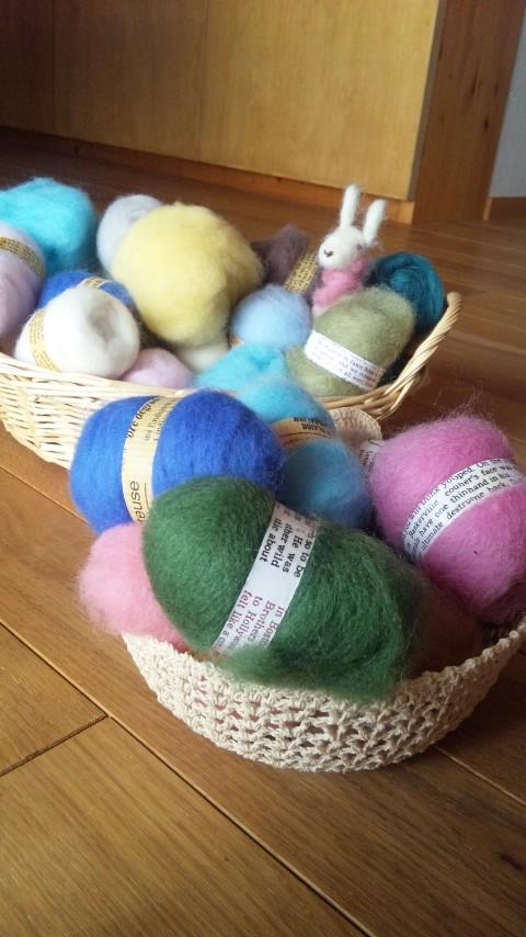 【羊毛フェルト】どうぶつを作る