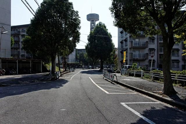 奈良県営平城団地の道路