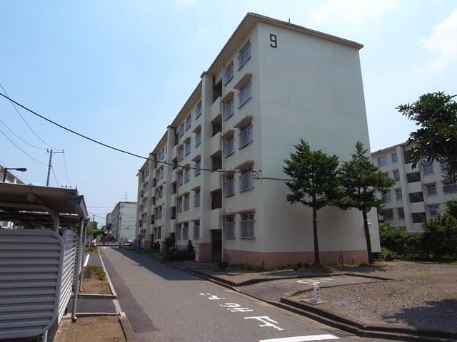 東京都営保木間第5アパートの中層住棟