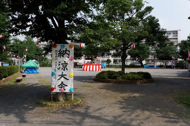 都営日野新井アパートの夏祭り