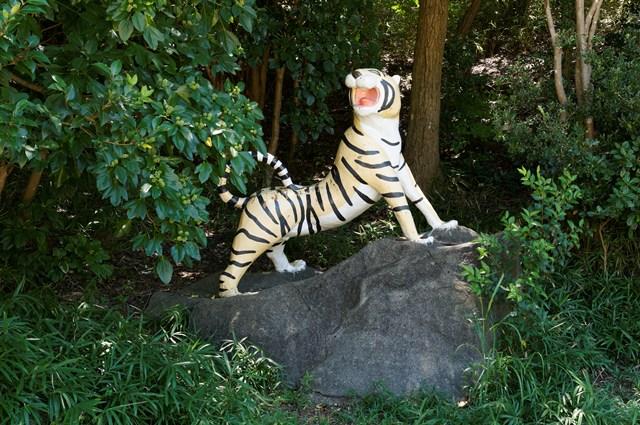 松が丘公園トラ遊具
