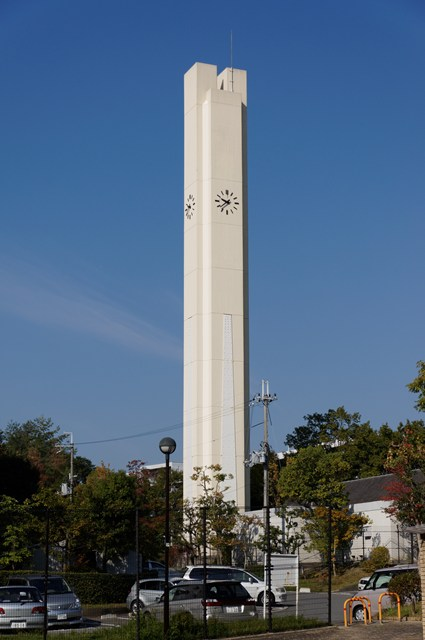 平城右京団地の給水塔