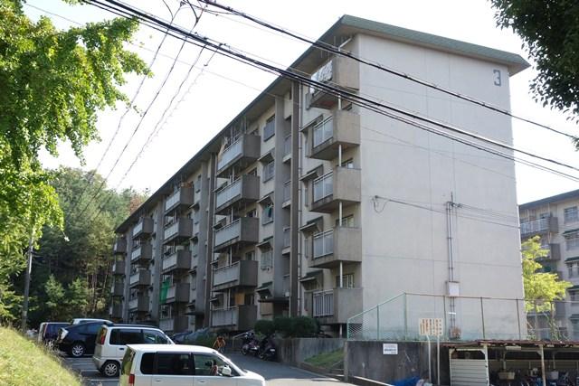 奈良県営平城団地の住棟