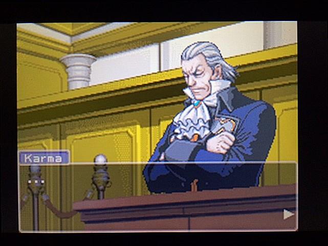 逆転裁判 北米版 カルマという男4