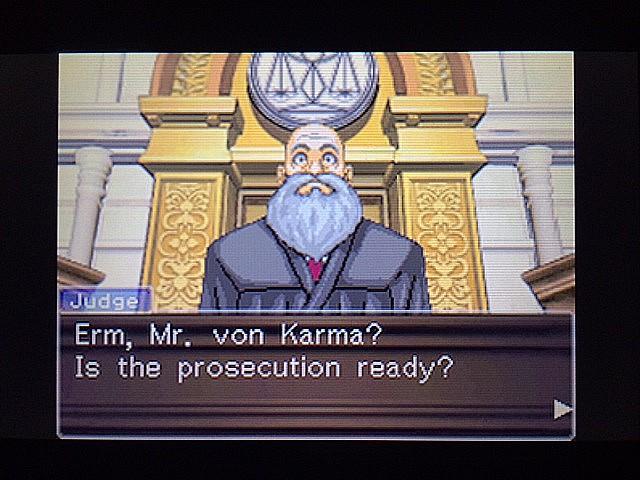 逆転裁判 北米版 カルマという男5