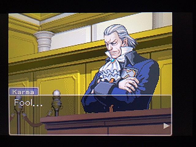 逆転裁判 北米版 カルマという男6