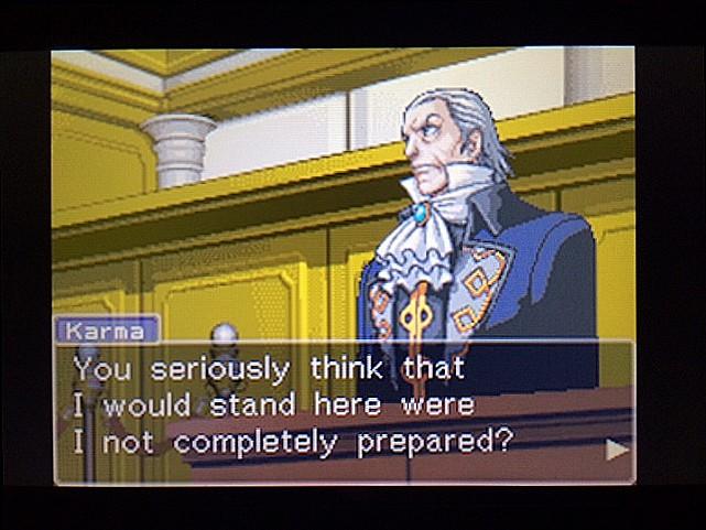 逆転裁判 北米版 カルマという男7