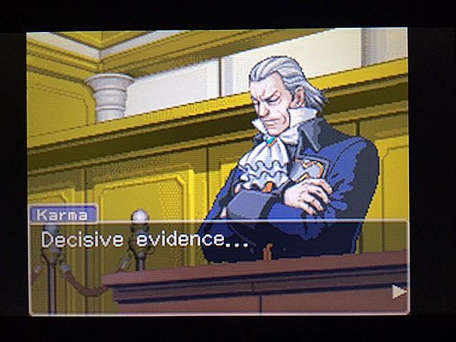 逆転裁判 北米版 カルマという男11