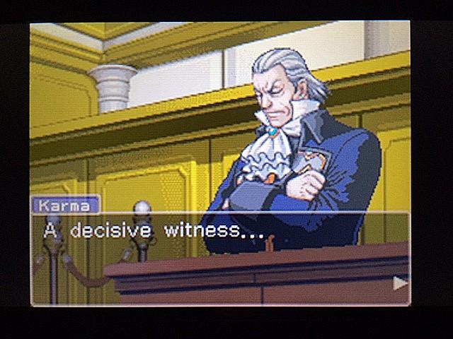 逆転裁判 北米版 カルマという男12