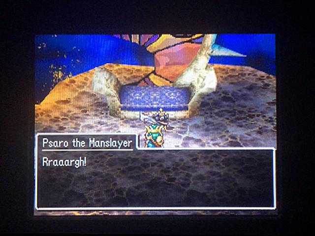 ドラクエ4 北米版 Psaro the Manslayer is defeated12