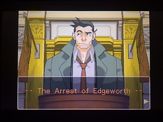 逆転裁判 北米版 エッジワース逮捕の証拠品1