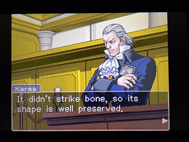 逆転裁判 北米版 エッジワース逮捕の証拠品7