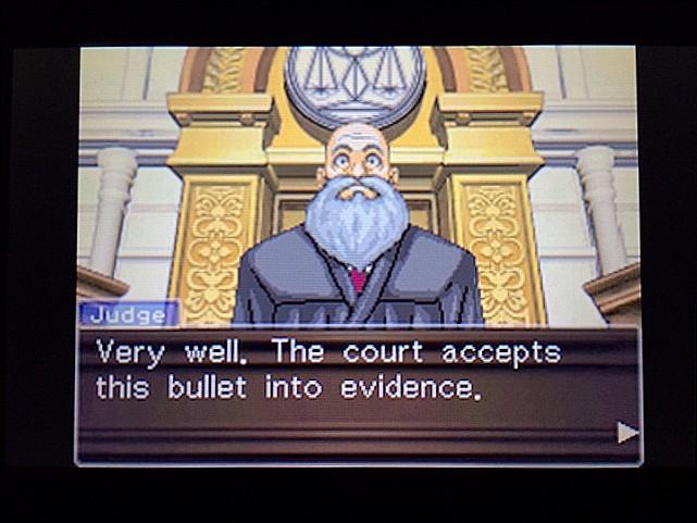 逆転裁判 北米版 エッジワース逮捕の証拠品8