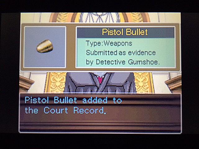 逆転裁判 北米版 エッジワース逮捕の証拠品9