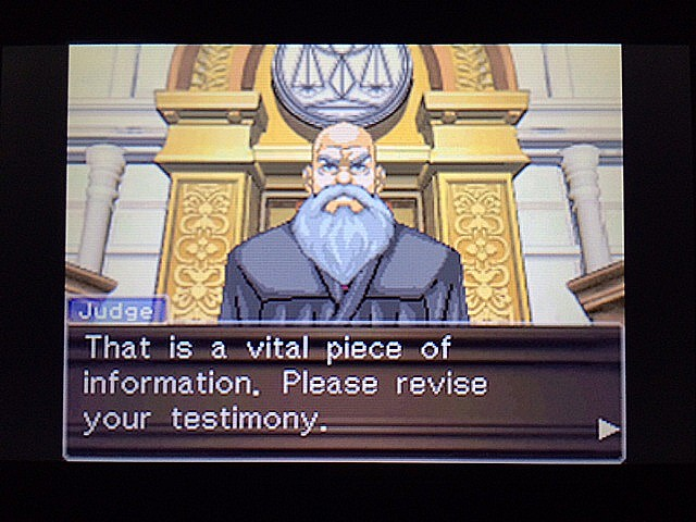 逆転裁判 北米版 エッジワース逮捕の証拠品16