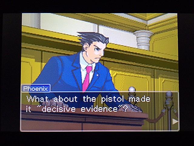 逆転裁判 北米版 エッジワース逮捕の証拠品19