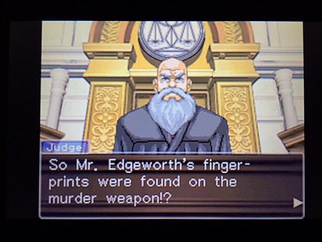 逆転裁判 北米版 エッジワース逮捕の証拠品25