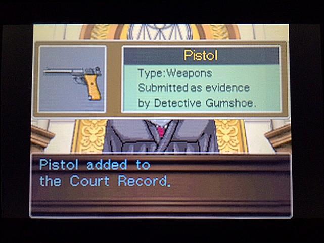 逆転裁判 北米版 エッジワース逮捕の証拠品29