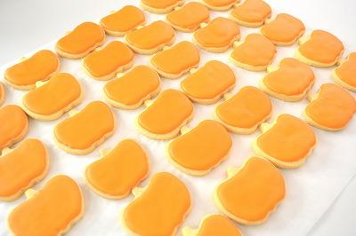 かぼちゃクッキーアイシング