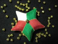 クリスマスモビール用星型針山