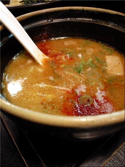 晴れる屋 赤つけ スープ