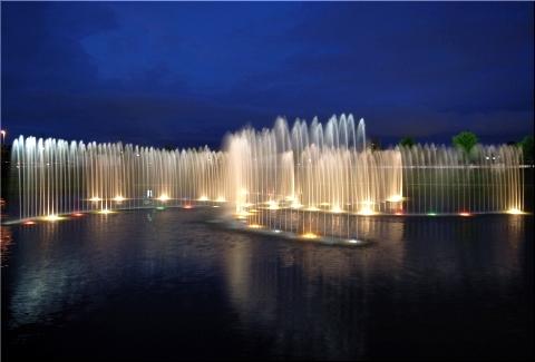 ハイウェイオアシス 噴水1