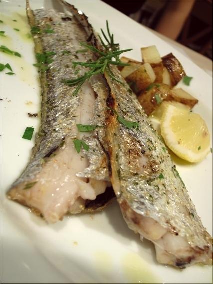 マリア 鮮魚の窯焼き