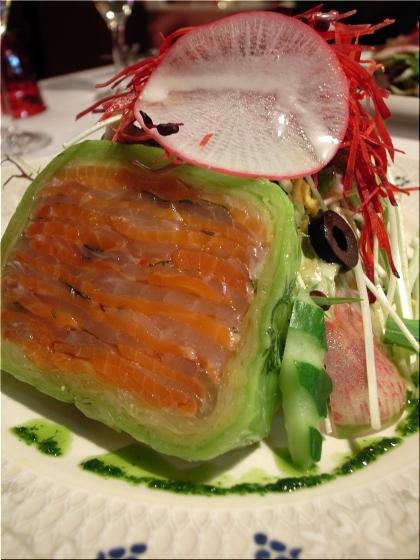 カジノ スモークサーモンと鯛