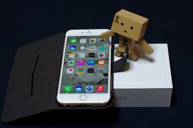 iPhone6plus 届きました
