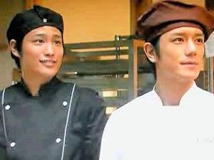 陽介(右)と弘基。タッキーではやはり若すぎる